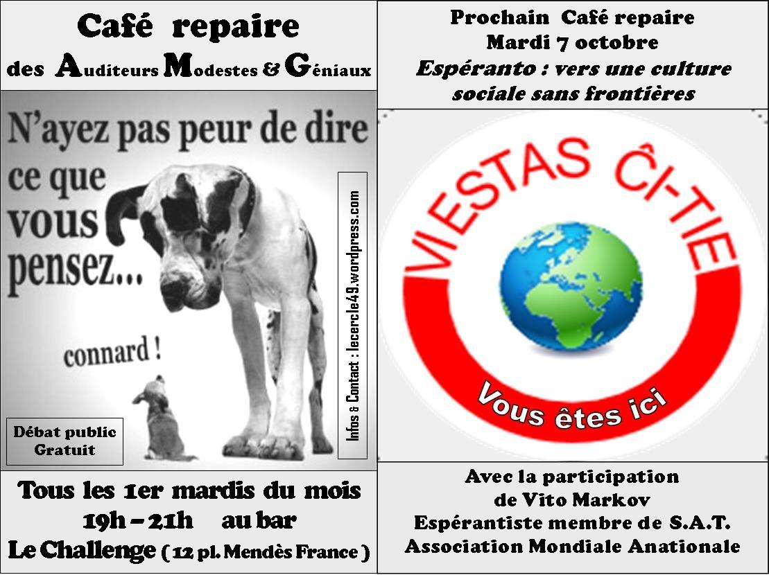Café-repaire ''vers une culture sociale sans frontières''