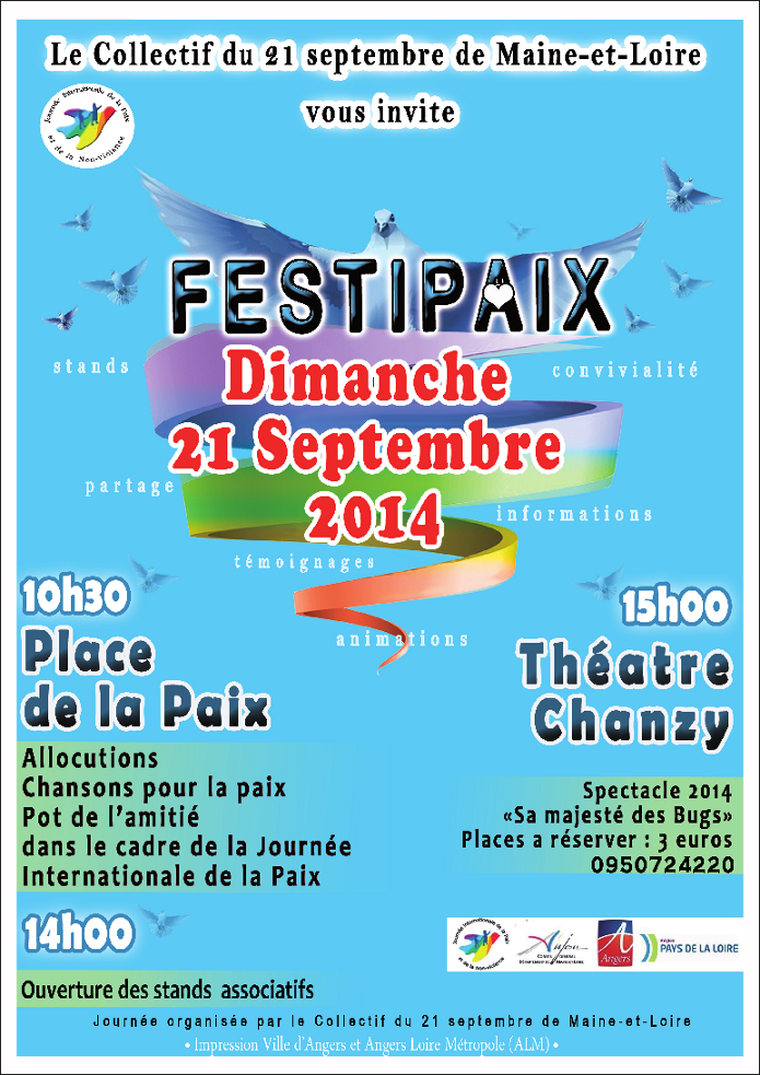 Festipaix - 21 septembre 2014