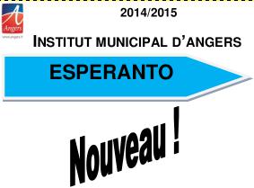 Cours à l'Institut Municipal 2014-2015