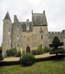 Visite du château de Fontenay (Lignières-de-Touraine) le 8 avril 2018