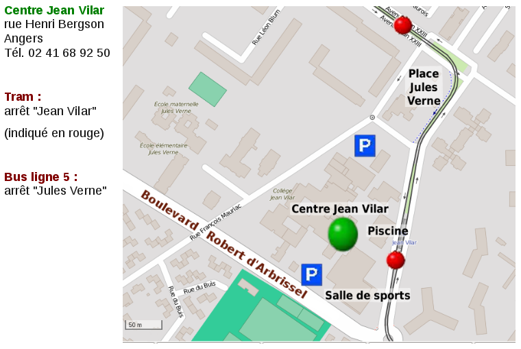 Centre Jean Vilar, Angers