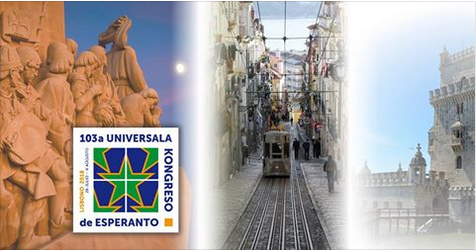 103ème Congrès Mondial d'Espéranto, Lisbonne (Portugal), 28 juillet - 04 août 2018