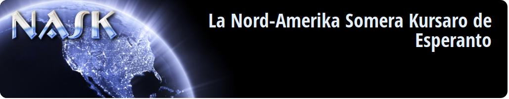 NASK-2020, la célèbre université d'été nord-américaine pour apprendre l'espéranto, à Raleigh, Caroline du Nord (États-Unis), du 28 juin au 4 juillet 2020
