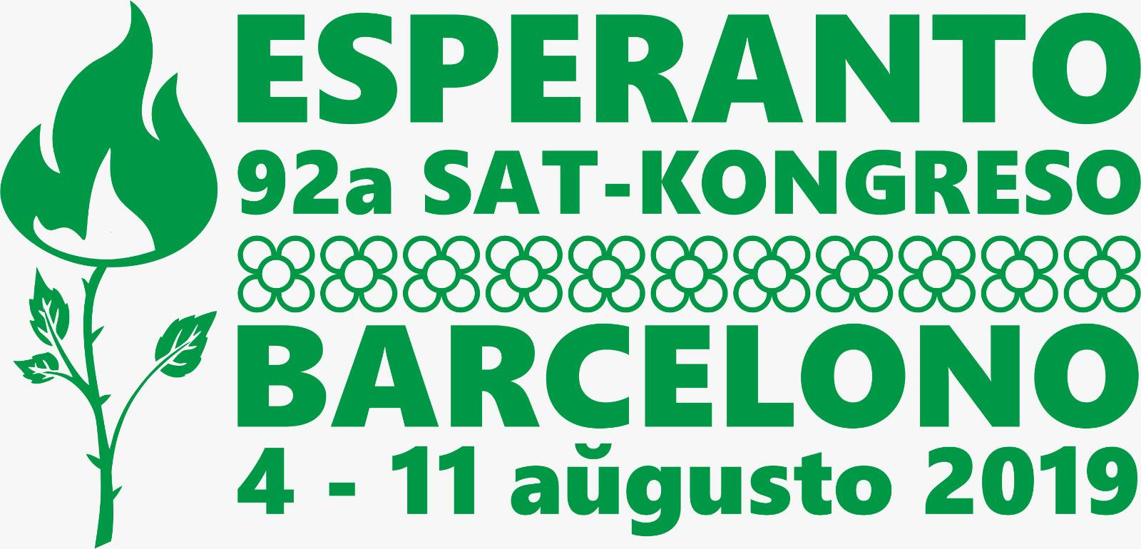 92ème congrès de SAT, Barcelone (Catalogne/Espagne), 04-11 août 2019